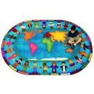 Hands Around the World Classroom Carpet, 30-CR-HAW*