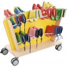 Mobile Boot Storage for 18 Pairs, by HABA, 125323