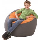 Ball Bean Bag - Orange & Anthracite - by HABA, 022925