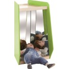 Grow Upp Trapezoid Cabinet by HABA, with Safety Mirrors, 440420*