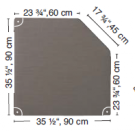 "HABA Grow.upp Soft Foam Platform B, 13"" H, 128577*"