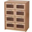 Forminant Materials Cabinet with Acrylic Drawers by HABA, 508314