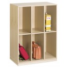 "Book Bag Cupboard, 48 1/2"", 6 Compartments, by HABA, 840301"