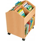 Large Beech Book Chest with casters by HABA, 120960