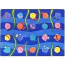 Friendly Fish Rectangle Classroom Carpet, 30-CR-FSH*