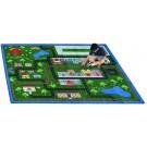 Tiny Town Rectangle Classroom Carpet, 30-CR-TIN*
