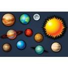Solar System Sound Panel Set by Audimute®, AU-GPLTH1