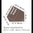 HABA Grow.upp Tretford Carpet Platform C with Drawer, 470246*