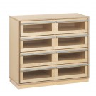 "Move-Upp 8 Drawer Cabinet by HABA 31"" High, 433124"
