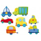 Magnetic Décor by HABA, Vehicles, 104709