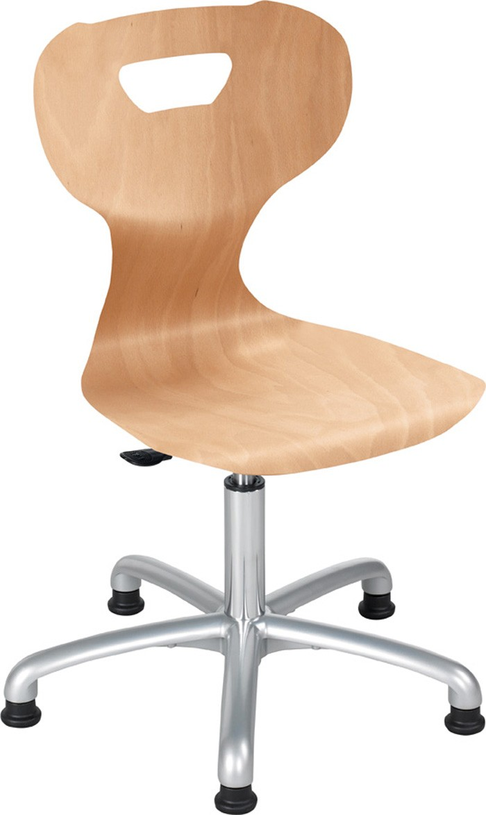 wood swivel chair active solit sit height adjustable 16 1