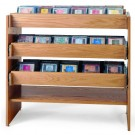 MAR-LINE® Solid Oak Cleveland CD Display by Gressco, 3061A