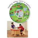 MyPlate Activity Waiting Area Children's Table, 15-MPT-MYP