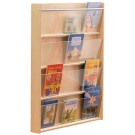 Wall Mounted Book Shelf 4 Compartment by HABA, 120975