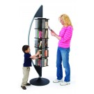 MAR-LINE® Quarter Eclipse Rotating Steel Book Display by Gressco, 9004*