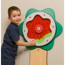 Children's Furniture Company® Green Plinko Flower Activity, 20-PLT-002 (shown with optional base)