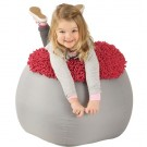 Grow.upp Large Anemone Bean Bag Chair by HABA, 090398 Pink
