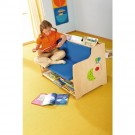 """Kindergarten Library Bench by HABA, 13"""" Seat Height"""