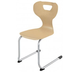 """solit:sit® Wood Skid Chair, Swing Model B by HABA, 17"""" H, 178125*"""