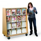 MAR-LINE® Mobile Omni Periodical Display by Gressco, DSM16*