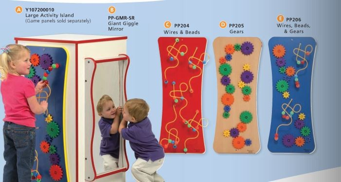 Children S Furniture Company 174 Wires Amp Beads Wall Activity