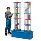 MAR-LINE® Junior Double-Tower Children and Young Adult Book & Media Display by Gressco, 3940M*