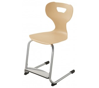 "solit:sit® Height-Adjustable Wood Chair with Adjustable Footrest by HABA, 12 1/2""-15"" H, 178138*"