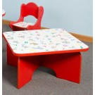 Children's Furniture Company® Square Friends Design Toddler Table, 27-TBR*