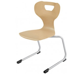 """solit:sit® Wood Skid Chair, Swing Model A by HABA, 13 3/4"""" H, 178113*"""
