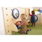 """Birch Pegboard Wall Panel by HABA, 68"""" wide, 458892"""