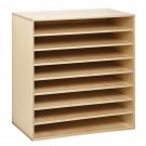 Move-Upp Document Top Cabinet with 7 Adjustable Shelves by HABA, 439507