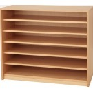 Forminant Wide 5 Shelf Open Bookcase by HABA, 508403*