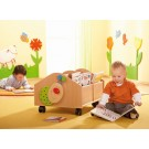 Small Beech Browser Chest with Casters by HABA, 120989