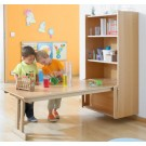 Learning Wall Mounted Folding Table by HABA, 184120* - 184124*