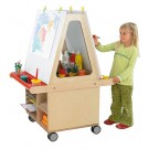 Mobile Combination Easel and Drying Station by HABA, 470722