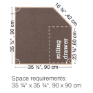 HABA Grow.upp Linoleum Platform B with Drawer, 470356*