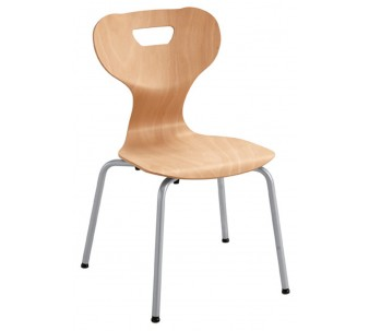 """solit:sit® Four-Leg Wood Chair by HABA, 15"""" H, 178104*"""