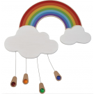 Rainbow, Wooden Playwall Decoration by HABA, 121092
