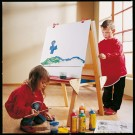 Double Sided Space Saving Easel by HABA, 127625