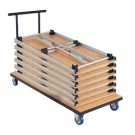 """Folding Table Cart by HABA, 65"""" x 28"""", 019081*"""