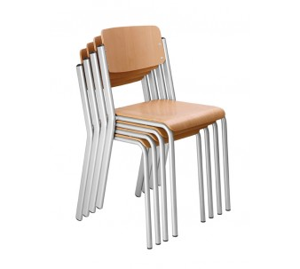 Four-Leg, Stackable Geo Chair by HABA, 176060*