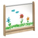 "Children's Room Partition by HABA, Clear Acrylic Panel 46 3/4"", 870186"