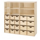 Move-Upp Shelf Cabinet with 20 Bins, 438020 by HABA*