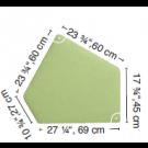 """HABA Grow.upp Soft Foam Platform C -CanvasBione Fabric 4 1/2"""" H"""