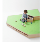 Building Platforms Linoleum Corner Platform Large (B) by HABA, 847305*
