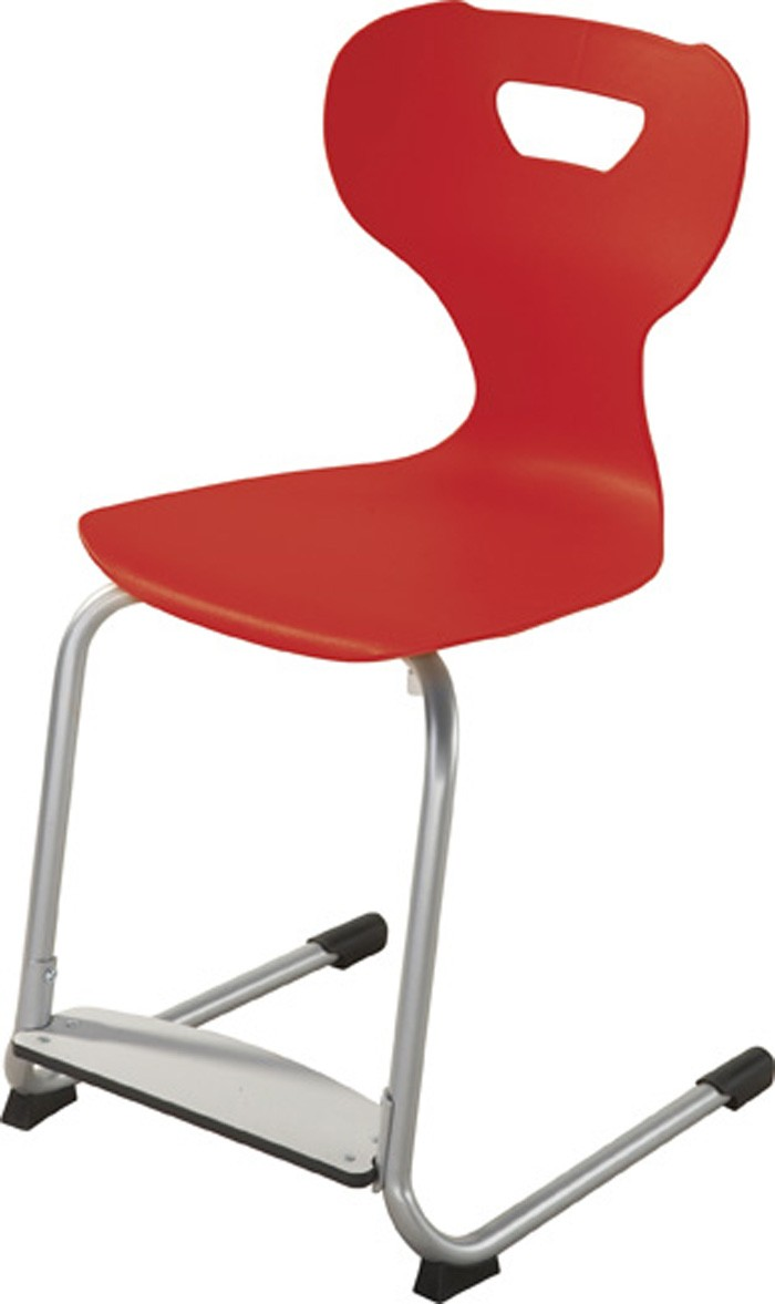 Solit sit 174 height adjustable plastic chair with adjustable footrest by haba 15 17 h 178039
