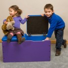 Children's Furniture Company® Toy Box Double-Seat Chest by Gressco, 20-TBD-000